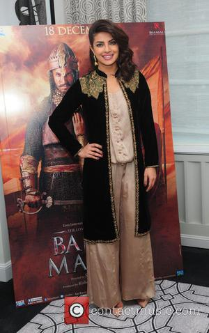 Priyanka Chopra - Indian historical romance film 'Bajirao Mastani' photocall at the The Regency Hotel - New York City, United...