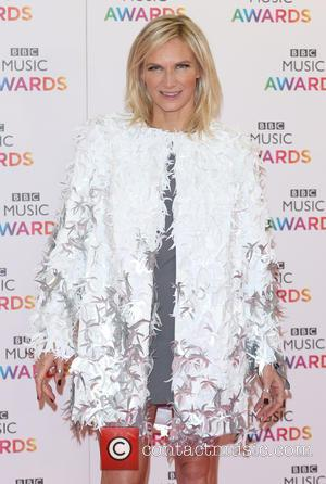 Jo Whiley - BBC Music Awards 2015 held at the Genting Arena - Arrivals - Birmingham, United Kingdom - Thursday...