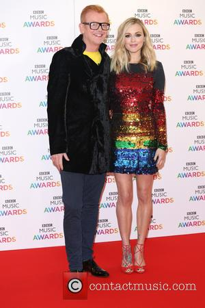 Chris Evans , Fearne Cotton - BBC Music Awards 2015 held at the Genting Arena - Arrivals - Birmingham, United...
