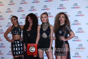 Little Mix - BBC Music Awards 2015 held at the Genting Arena - Arrivals - Birmingham, United Kingdom - Thursday...