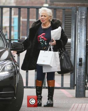 Denise Welch - Denise Welch outside ITV Studios - London, United Kingdom - Thursday 10th December 2015