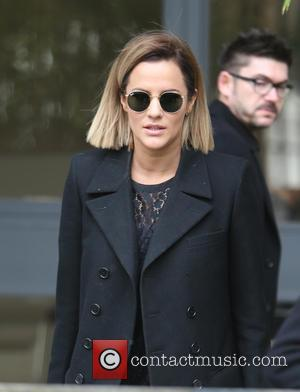 Caroline Flack - Caroline Flack outside ITV Studios - London, United Kingdom - Thursday 10th December 2015