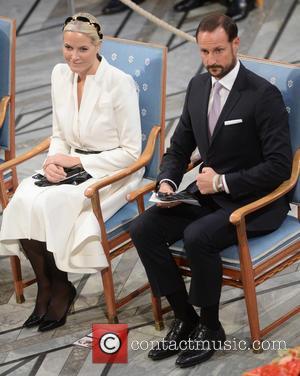 Norwegian Crown Princess Mette Marit and Crown Prince Haakon
