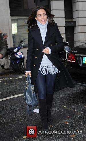 Frankie Bridge - Frankie Bridge arrives at BBC Radio 2 - London, United Kingdom - Thursday 10th December 2015