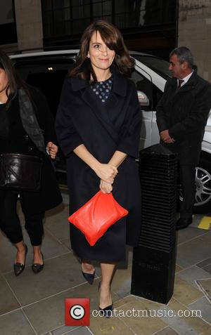 Tina Fey - Tina Fey at BBC Radio 2 - London, United Kingdom - Thursday 10th December 2015