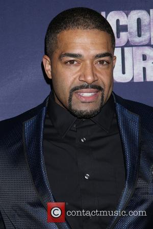 David Otunga - Opening night for The Color Purple at the Bernard B. Jacobs Theatre - Arrivals. at Bernard B....