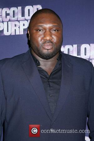 Nonso Anozie - Opening night for The Color Purple at the Bernard B. Jacobs Theatre - Arrivals. at Bernard B....