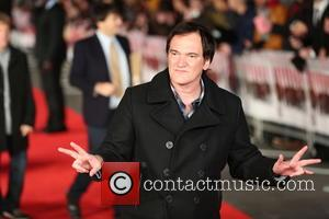 QUENTIN TARANTINO - Celebrities attend the European Premiere of The Hateful Eight at Odeon Leicester Square in London.