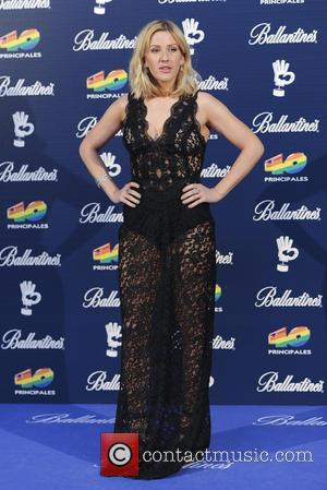 Ellie Goulding - Ellie Goulding at the 40 Principales Gala Awards where she received the Best New International Artist and...