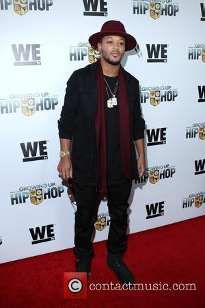 Romeo Miller - WE tv's 'Growing Up Hip Hop' premiere party - Arrivals - New York, New York, United States...