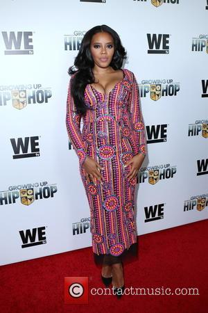 Angela Simmons - WE tv's 'Growing Up Hip Hop' premiere party - Arrivals - New York, New York, United States...