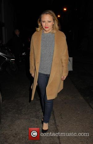 Kimberley Walsh - Kimberley Walsh leaves the Dominion Theatre after performing in 'Elf the Musical' - London, United Kingdom -...