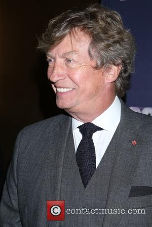 Nigel Lythgoe - Opening night for The Color Purple at the Bernard B. Jacobs Theatre - Arrivals. at Bernard B....