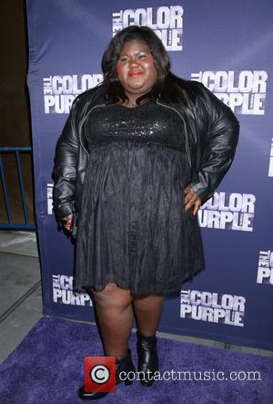 Gabourey Sidibe - Opening night for The Color Purple at the Bernard B. Jacobs Theatre - Arrivals. at Bernard B....