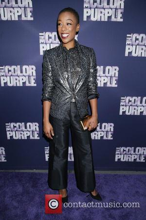 Samira Wiley - Opening night for The Color Purple at the Bernard B. Jacobs Theatre - Arrivals. at Bernard B....