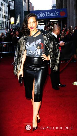 Alicia Keys - Billboard Women In Music 2015 at Cipriani 42nd Street - Arrivals - New York, United States -...