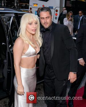 Lady Gaga , Taylor Kinney - Billboard Women in Music Luncheon 2015 at Cipriani 42nd St - New York, New...