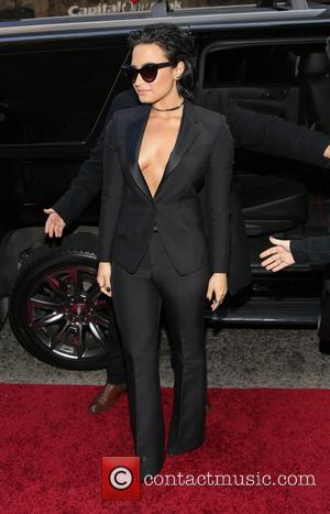 Demi Lovato - Billboard Women in Music 2015 at Cipriani 42nd Street - Arrivals - New York, New York, United...