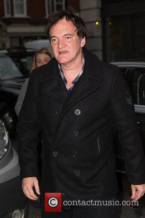 Quentin Tarantino - Quentin Tarantino arriving at the BBC Radio 2 studios at BBC Western House - London, United Kingdom...