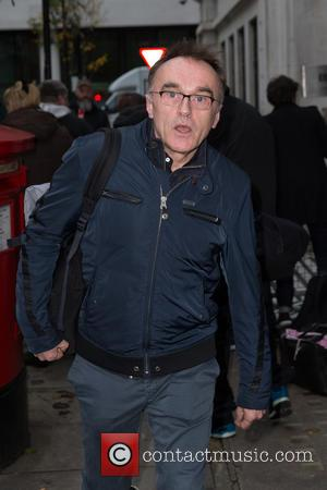 Danny Boyle - Danny Boyle pictured arriving at the BBC Radio 2 studios at BBC Western House - London, United...