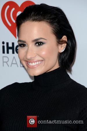 Demi Lovato - Z100's iHeartRadio Jingle Ball 2015 - Red Carpet Arrivals - New York, New York, United States -...