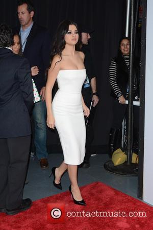 Selena Gomez - Z100's iHeartRadio Jingle Ball 2015 - Red Carpet Arrivals - New York, New York, United States -...