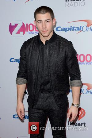 Nick Jonas - Z100's iHeartRadio Jingle Ball 2015 - Red Carpet Arrivals - New York, New York, United States -...
