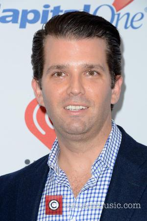 Donald Trump Jr. - Z100's iHeartRadio Jingle Ball 2015 - Red Carpet Arrivals - New York, New York, United States...