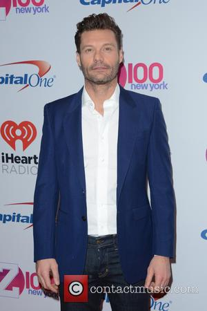 Ryan Seacrest - Z100's iHeartRadio Jingle Ball 2015 - Red Carpet Arrivals - New York, New York, United States -...