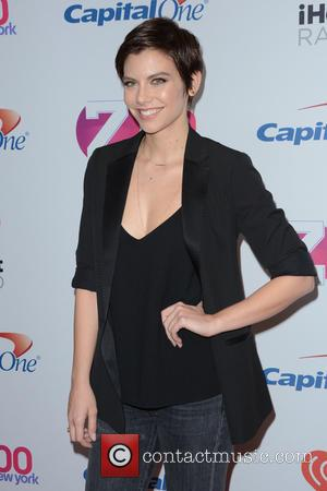 Lauren Cohan - Z100's iHeartRadio Jingle Ball 2015 - Red Carpet Arrivals - New York, New York, United States -...