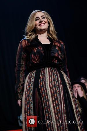 Adele Adkins - Skavlan Television Show filming at the London Studios. - London, United Kingdom - Friday 11th December 2015