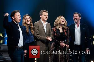Princess Madeleine Of Sweden, Chris O'neill, Jamie Oliver, Fredrik Skavlan and Adele Adkins