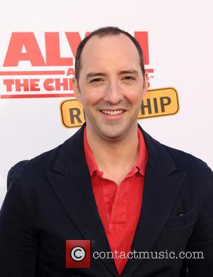 Tony Hale - 'Alvin and the Chipmunks: The Road Chip' premiere at the Darryl F. Zanuck Theatre at Zanuck Theater...