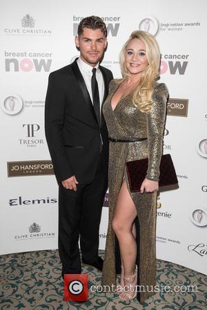 Kieron Richardson , Kirsty Leigh Porter - The Inspiration Awards for Women 2015 held at the Landmark Hotel - London,...
