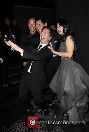 Leonardo Nam, Randall Park, Ken Jeong and Diana Bang
