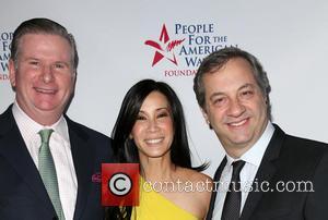Michael Keegan, Lisa Ling and Judd Apatow