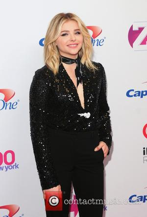 Chloe Moretz - Z100's iHeartRadio Jingle Ball 2015 at Madison Square Garden - Red Carpet Arrivals at Madison Square Garden...