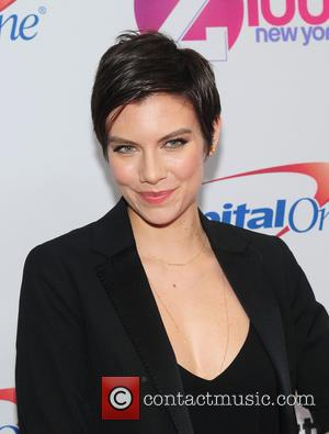 Lauren Cohan - Z100's iHeartRadio Jingle Ball 2015 at Madison Square Garden - Red Carpet Arrivals at Madison Square Garden...