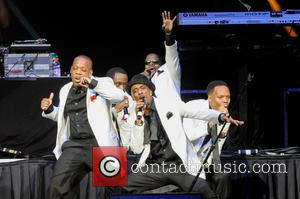 Ricky Bell, Johnny Gill, Ronnie Devoe, Michael Bivins and Ralph Tresvant