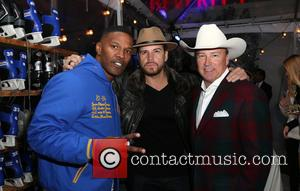 Jamie Foxx, Dave Osokow and Guest