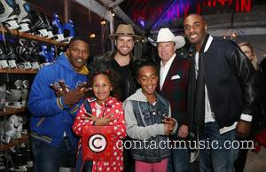 Jamie Foxx, Dave Osokow, Dave Brown, Annalise Bishop and Guests