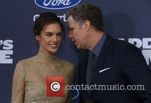 Alessandra Ambrosio and Will Ferrell