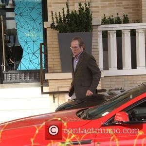 Tommy Lee Jones - Tommy Lee Jones spotted outside Barneys New York - Beverly Hills, California, United States - Sunday...