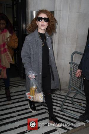 Jess Glynne - Jess Glynne pictured arriving at the Radio 2 studio at BBC Western House - London, United Kingdom...