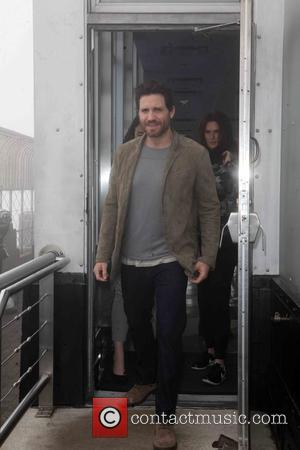 Edgar Ramirez - Point Break and Joy star Edgar Ramirez attends a photocall at the Empire State Building - NYC,...