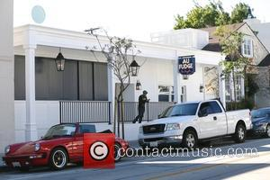 View - The lights get turned on at Jessica Biel's Au Fudge in West Hollywood - Los Angeles, California, United...