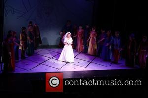 Jackie Hoffman - Opening night of Once Upon A Mattress at the Abrons Arts Center - Curtain Call. at Abrons...