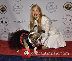 Beth Stern and Josie The Bulldog