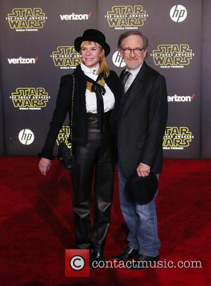 Kate Capshaw , Steven Spielberg - Premiere Of Walt Disney Pictures And Lucasfilm's