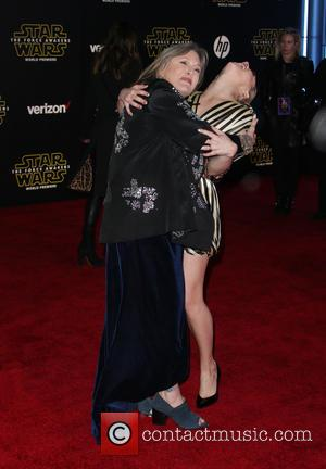 Carrie Fisher , Billie Lourd - Premiere Of Walt Disney Pictures And Lucasfilm's
